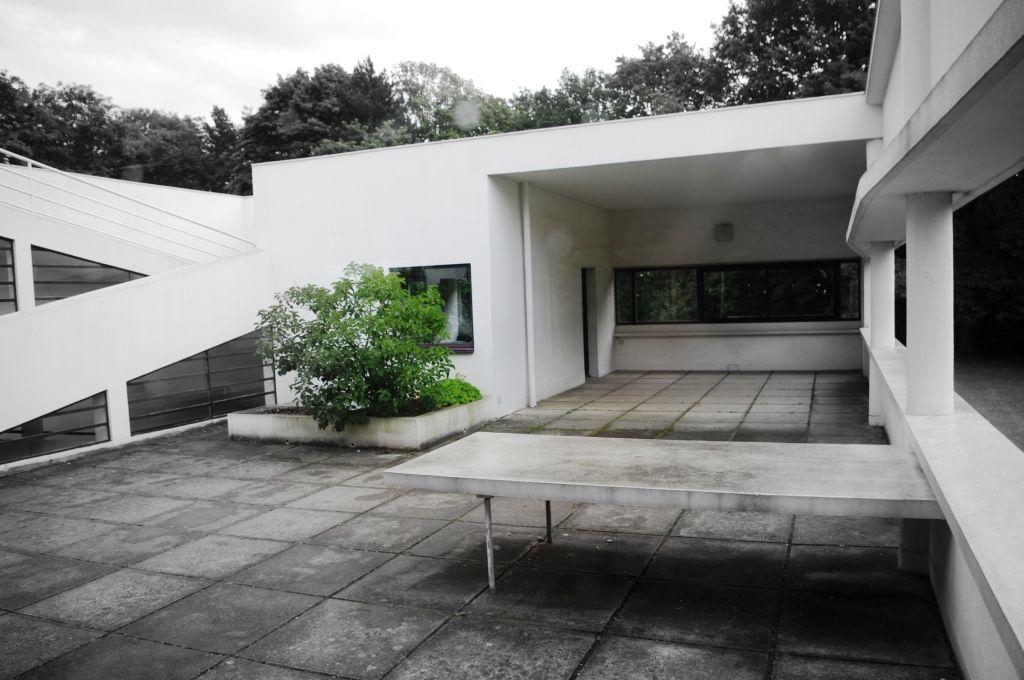 La villa savoye poissy sur la liste du patrimoine mondial de l 39 unesco - La villa savoye wikipedia ...