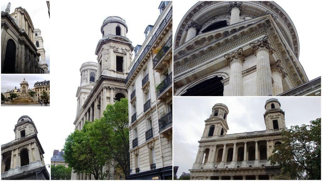 L'église Saint-Sulpice, en septembre 2016