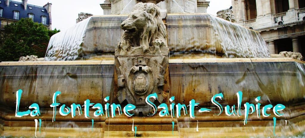 La fontaine Saint-Sulpice, place du même nom, Paris VIème