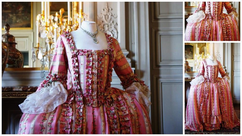 Robe à la française vers 1770