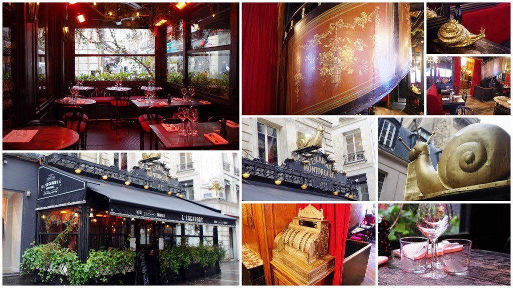 Restaurant L'Escargot Montorgueil 1832