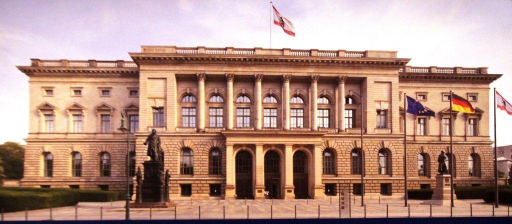 La façade du Parlement Parlament