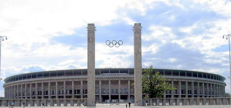 Olympiastadion Berlin - Le stade olympique de Berlin