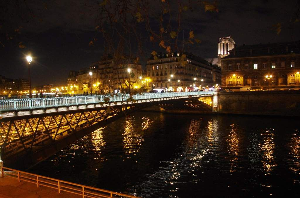 Les ponts du centre de Paris
