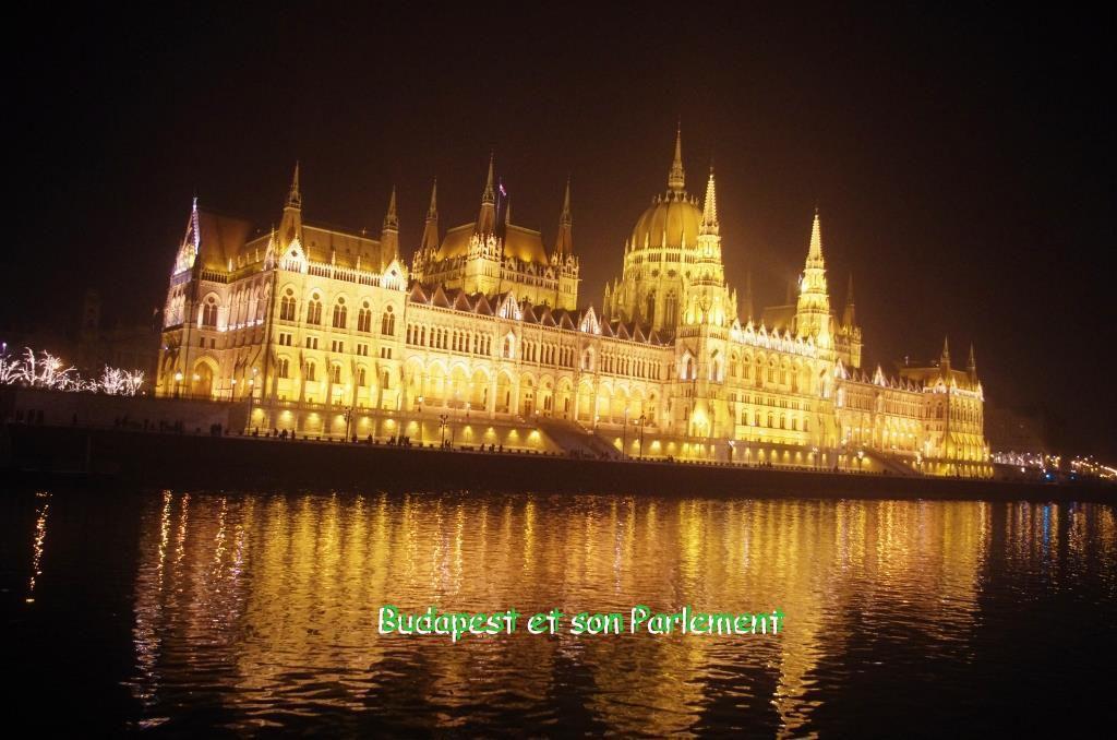 Le Parlement de Budapest Paliament