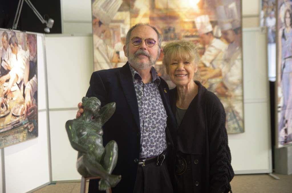 Les Invités d'Honneur du 59ème Salon des Beaux-Arts de Cormeilles : Liliane Caumont et Pascal Niau