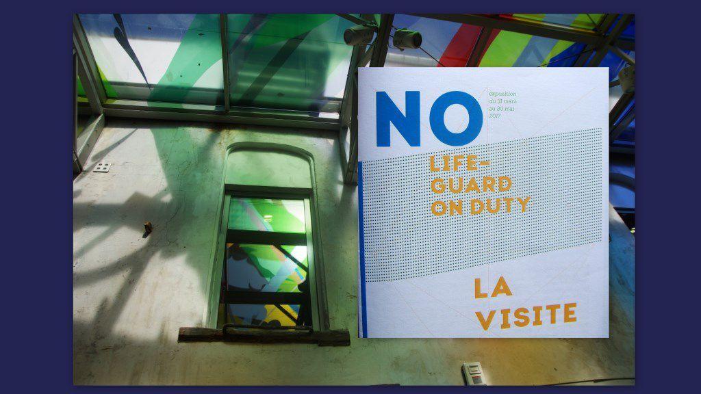 Une exposition visitée à la Graineterie de Houilles &quot&#x3B;NO Lifeguard on Duty&quot&#x3B;