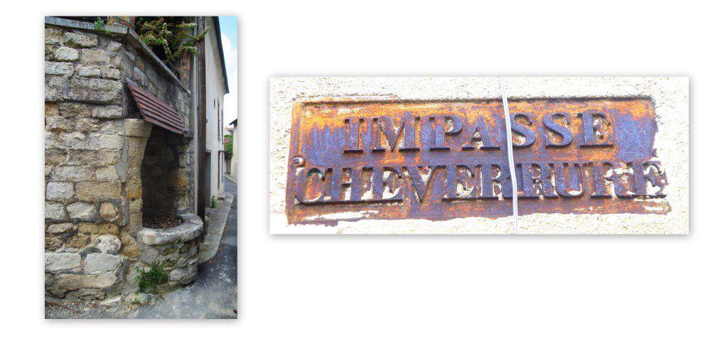 L'ancien puits de l'impasse des Cheverrures