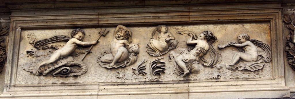 La fontaine des Innocents à Paris