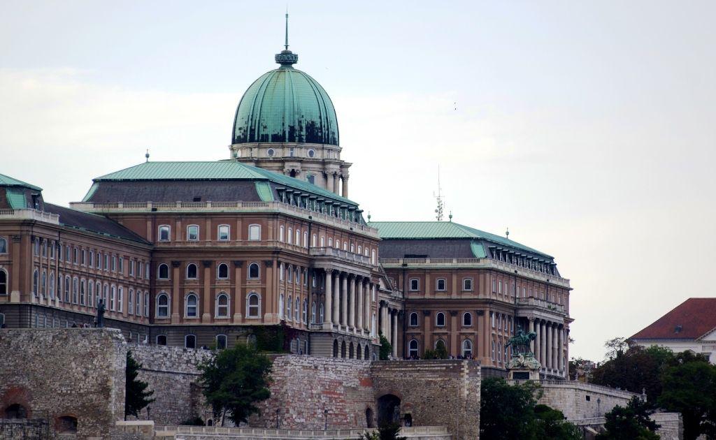 Le palais royal de Buda