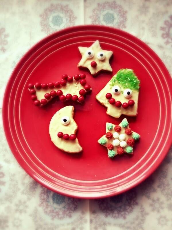 Petits sablés de Noël