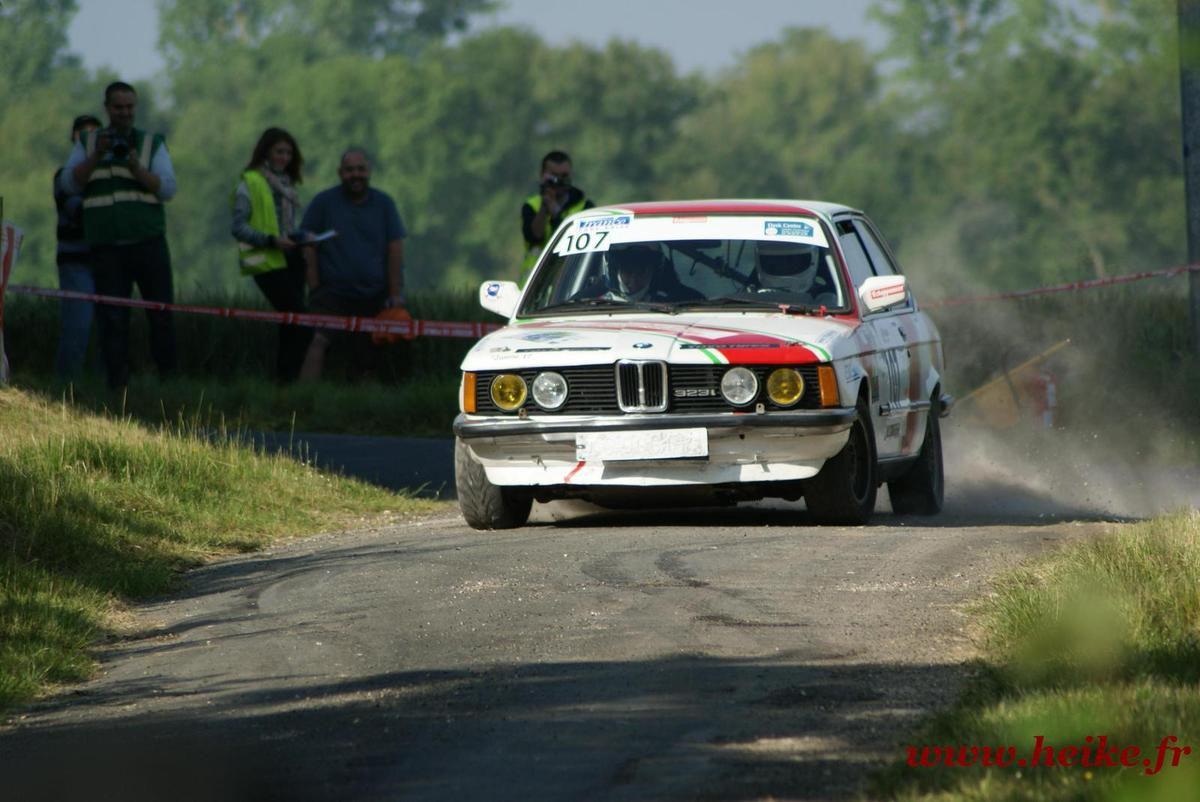 Rallye : Printemps de bords 2015 ES 2 les VHC