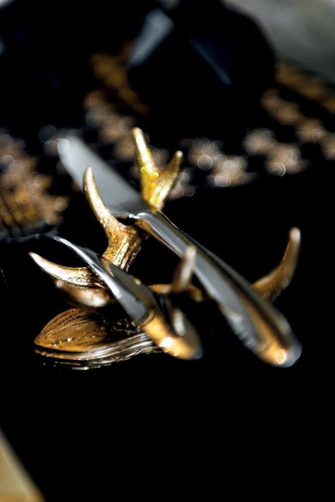 porte couteau corne de cerf