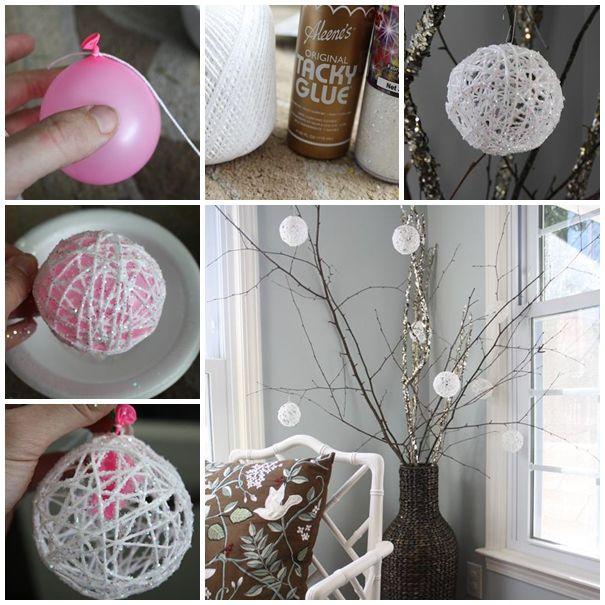 Connu Des boules de Noel DIY - Décorations de fête RT39