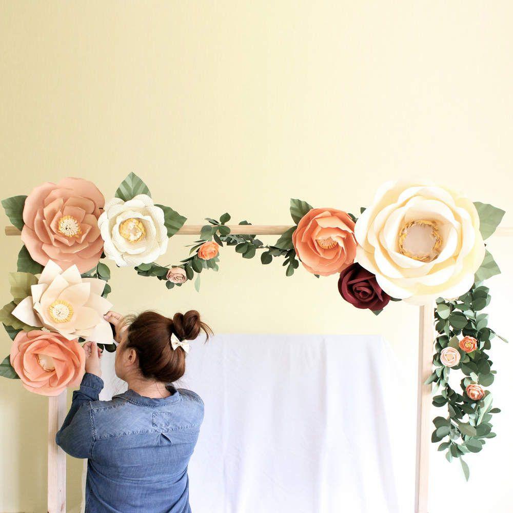 Tendance Mariage 2017 Les Fleurs En Papier Decorations De Fete