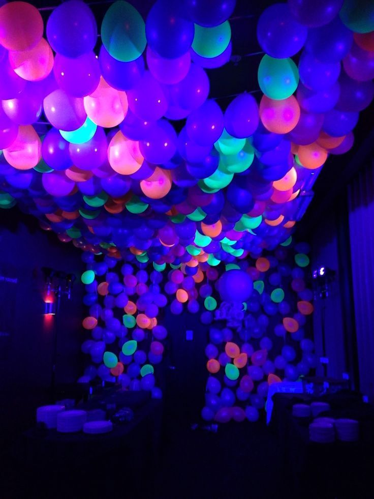 ballon led decoration de salle