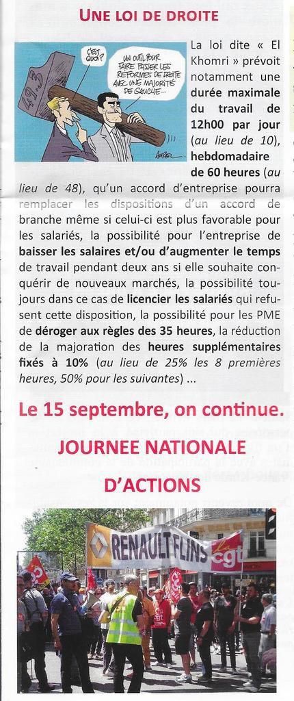 """Extrait de """"L'opinion des communistes"""" 3° trimestre édité par la section de Mantes-la-Jolie du PCF"""