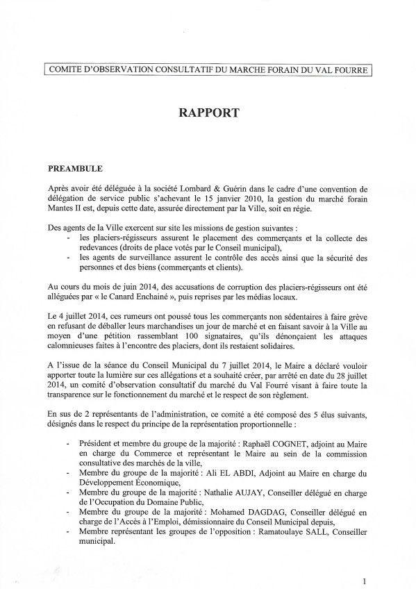 Marché du Val-Fourré : 750.000 euros perdus pour les Mantais.