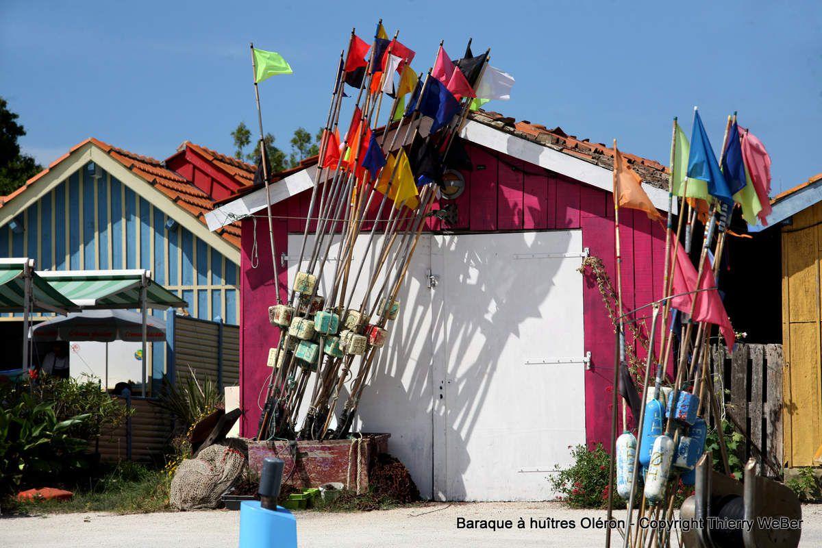 Les baraques à huîtres de l'Ile d'Oléron