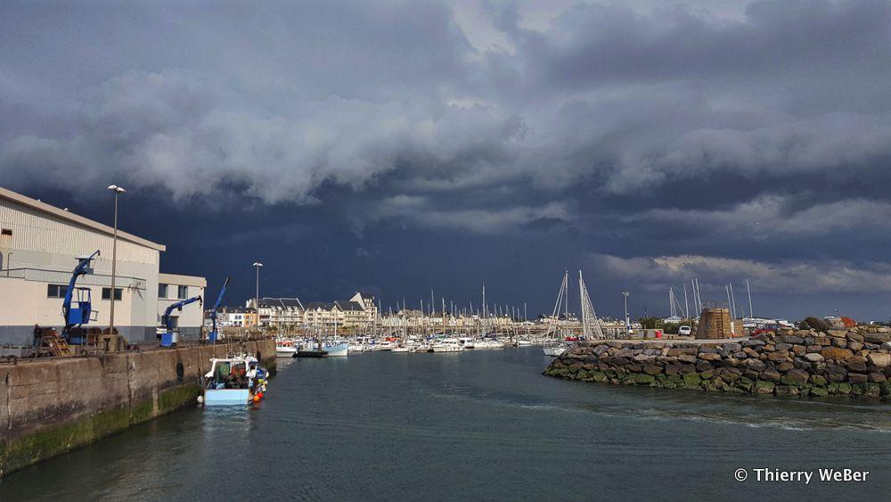 Quelques minutes avant l'orage...