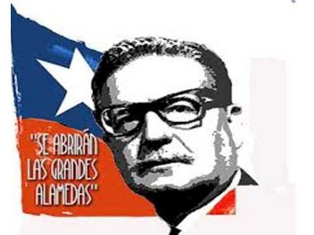 Salvador Allende. Fuente Viñeta: http://www.radiopolar.com