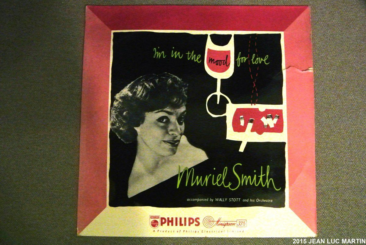 MURIEL SMITH: I'M IN THE MOOD FOR LOVE PHILIPS BBR 8000