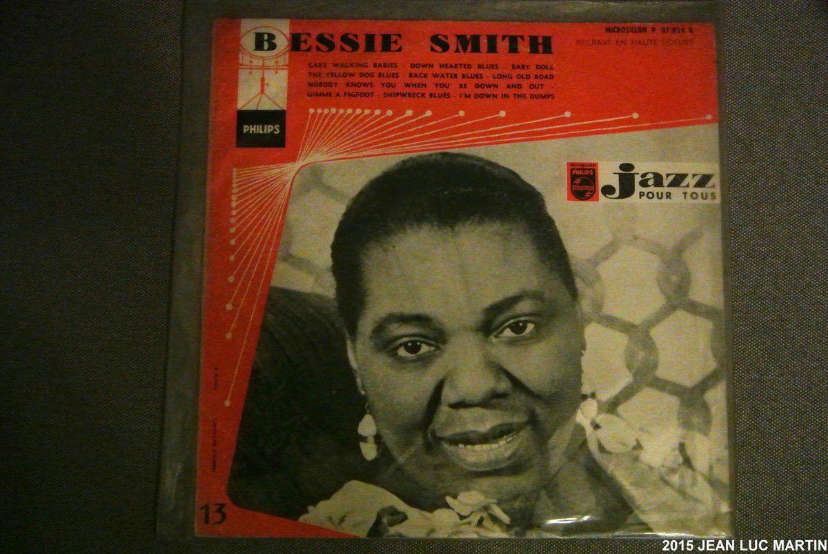 BESSIE SMITH: JAZZ POUR TOUS PHILIPS P 07 824 R