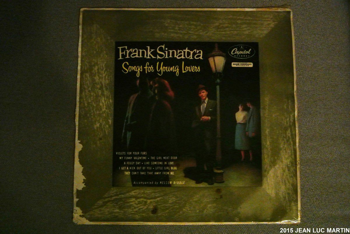 FRANK SINATRA: SONGS FOR YOUNG LOVERS CAPITOL RECORDS H 488