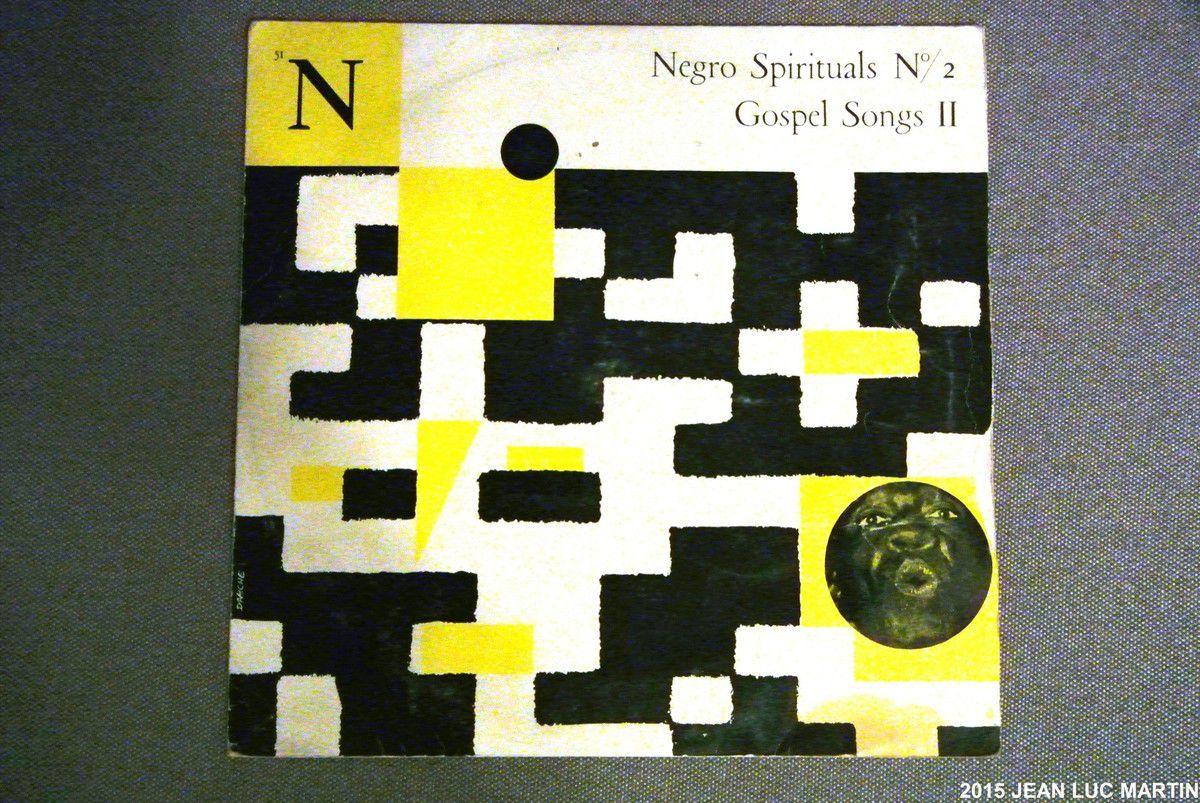 NEGRO SPIRITUALS N°2 GOSPEL SONGS 2 LE CLUB FRANCAIS DU DISQUE 51