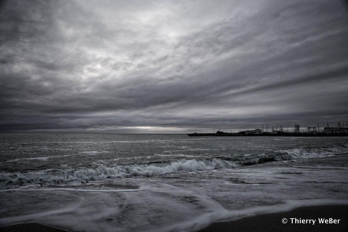 Tempête du 11 janvier 2016 à La Turballe