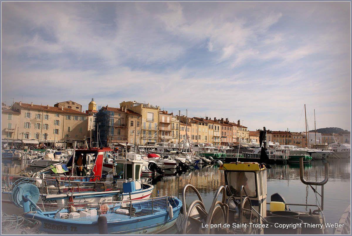 Les voiles latines du Port de Saint-Tropez
