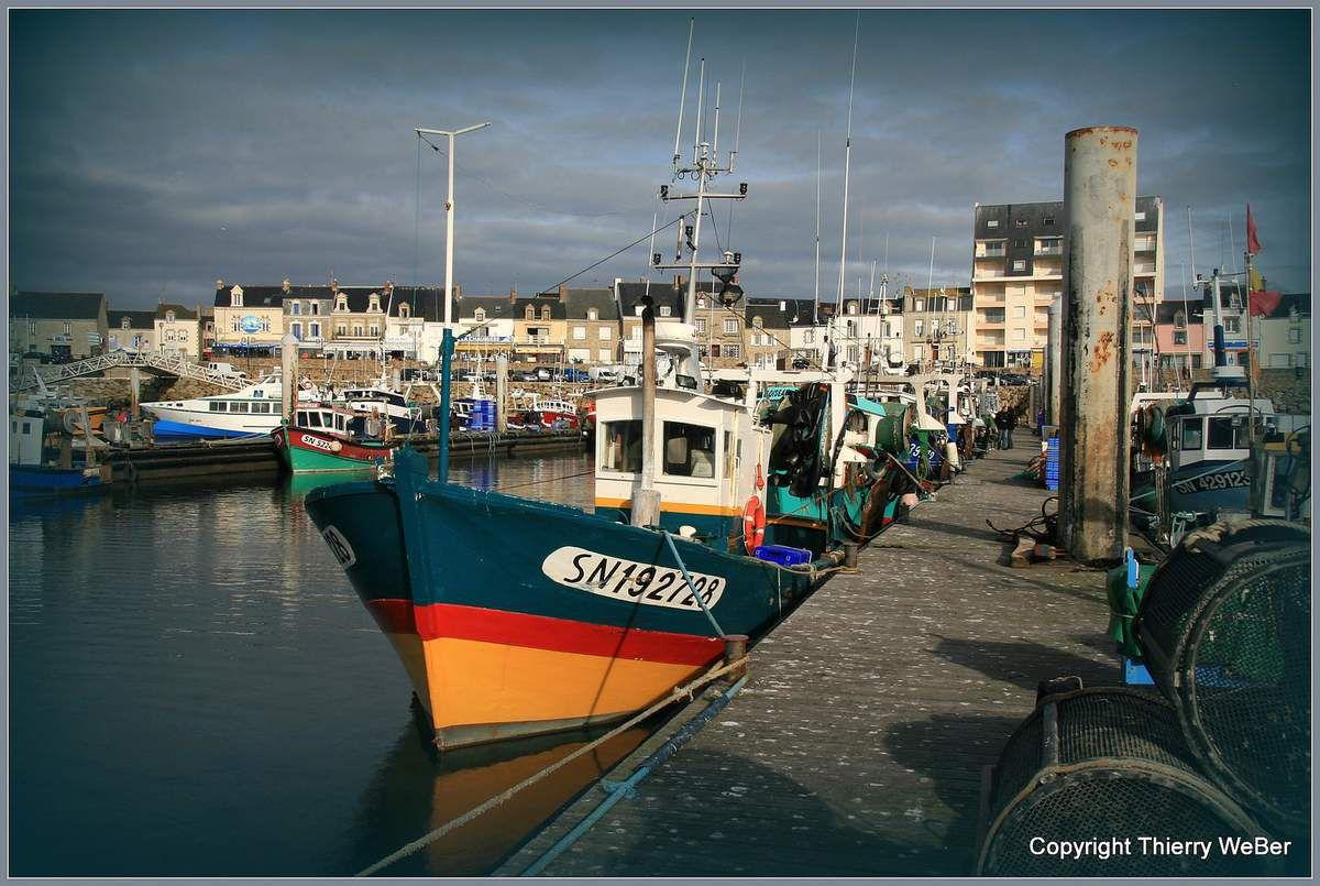 Les bateaux de pêche de La Turballe