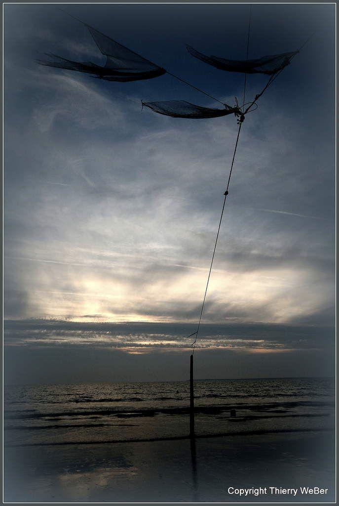 Un soir sur la plage de Tharon