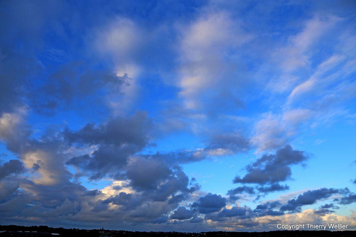 Les ciels des marais-salants de Guérande