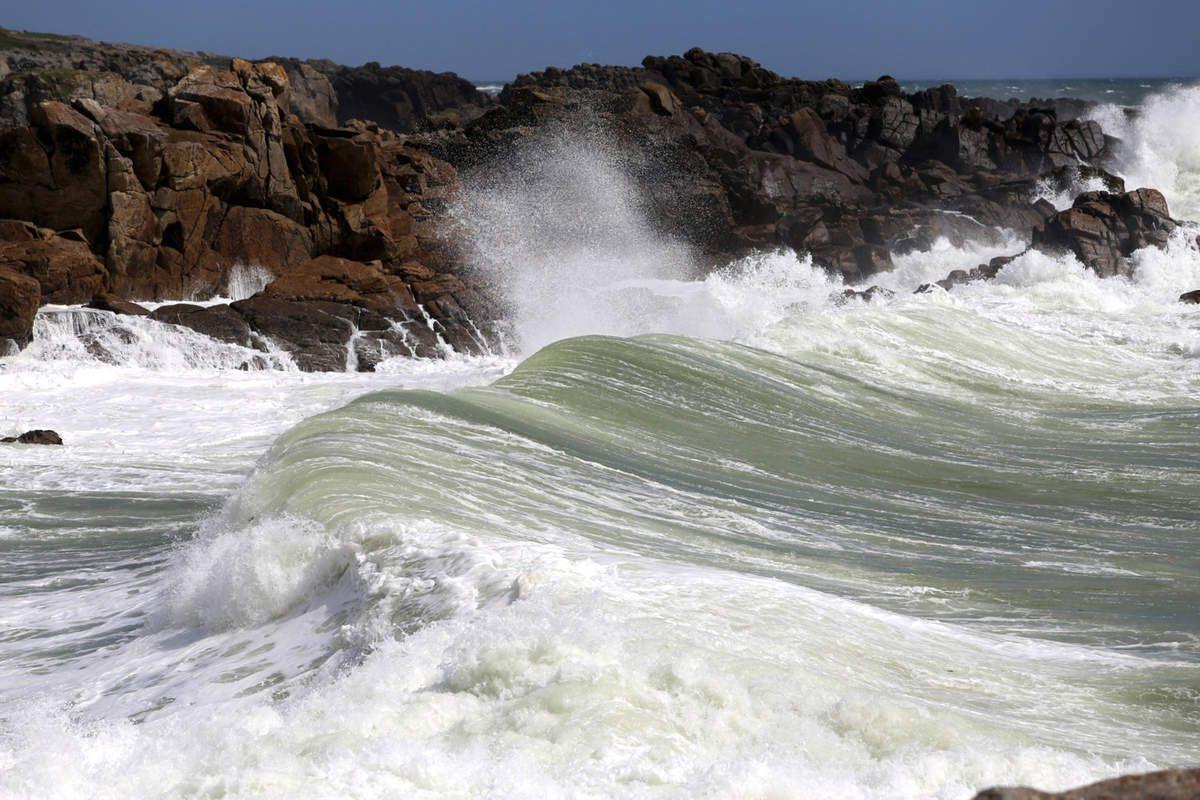 Coup de vent sur la Côte Sauvage - Batz-sur-Mer Le Pouliguen