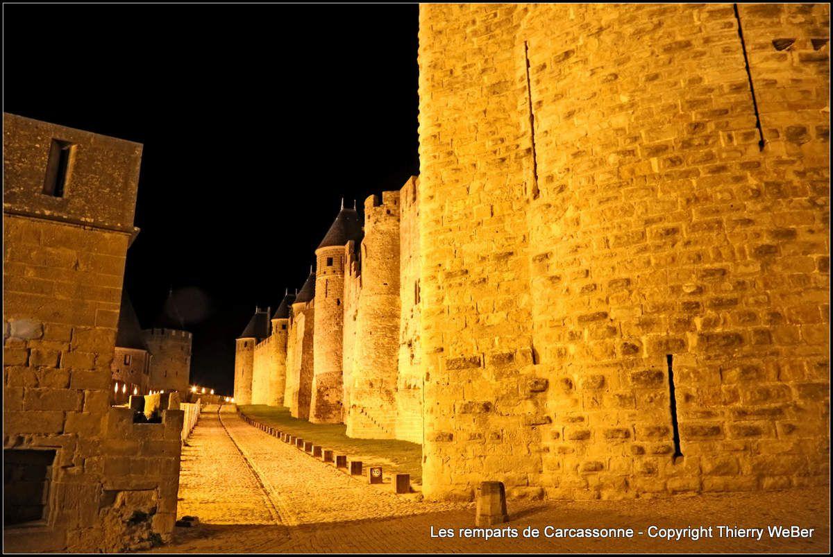 Les remparts de Carcassonne