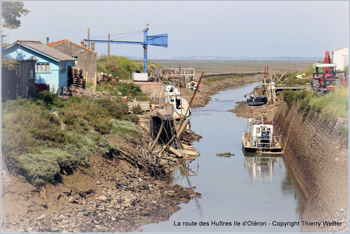 La route des Huîtres - Ile d'Oléron