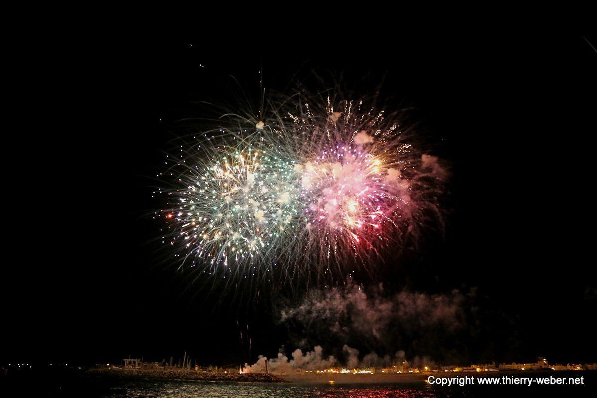 Spectacle pyrotechnique 150 ans de La Turballe
