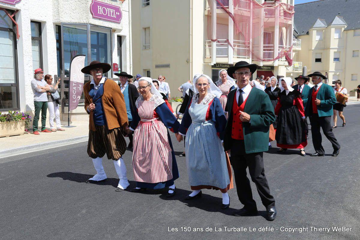 Les 150 ans de La Turballe - Défilé des cercles celtiques