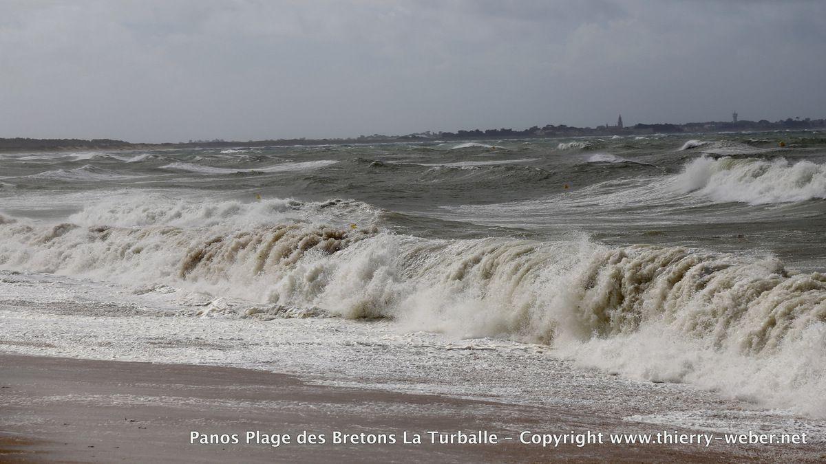 Coup de vent Plage des Bretons La Turballe