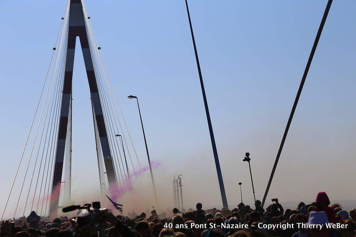 Pont de Saint-Nazaire 40ème anniversaire en couleurs