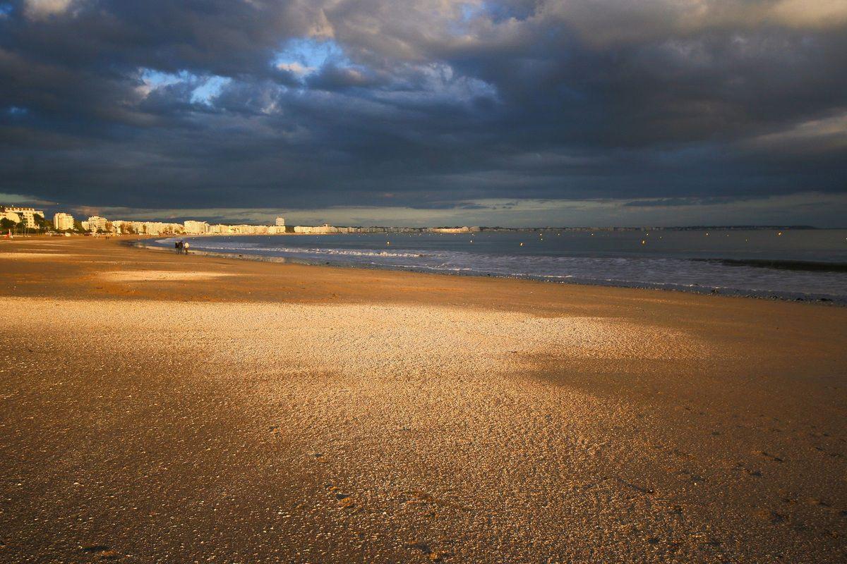 La plage de La Baule