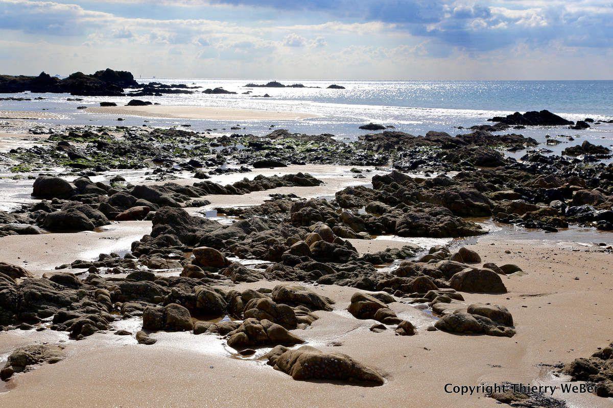 La plage de la Govelle à Batz-sur-Mer