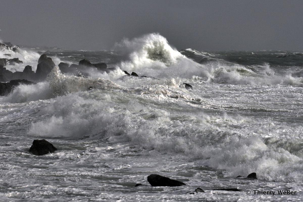 Au coeur de la tempête - Côte Sauvage Le Croisic