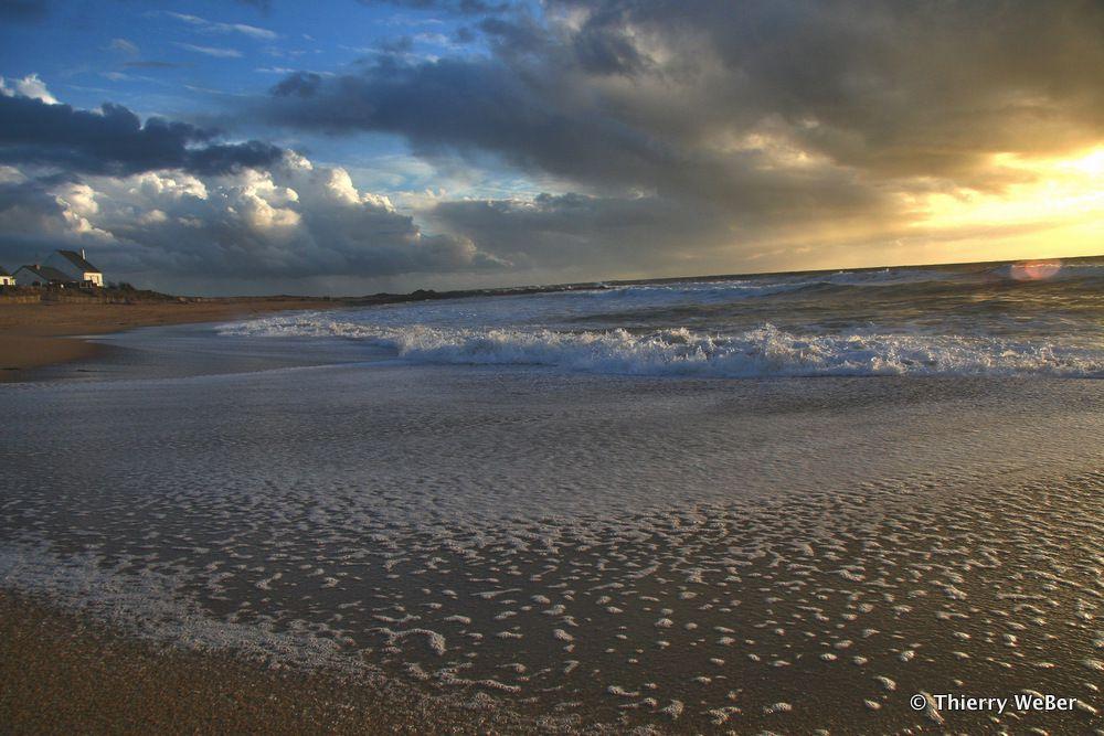 Plage Valentin à Batz-sur-Mer - Loire Atlantique