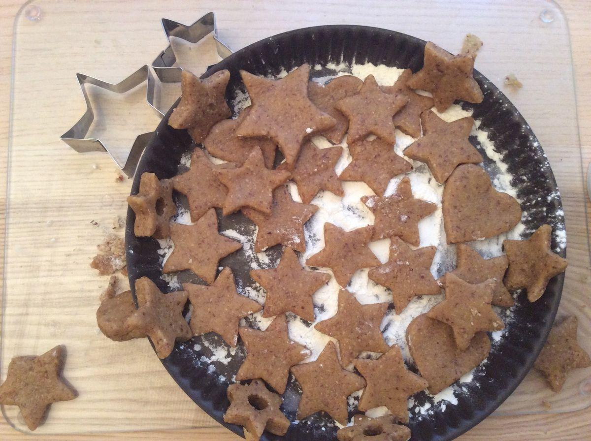 {Je cuisine} #1 des Biscuits aux amandes.
