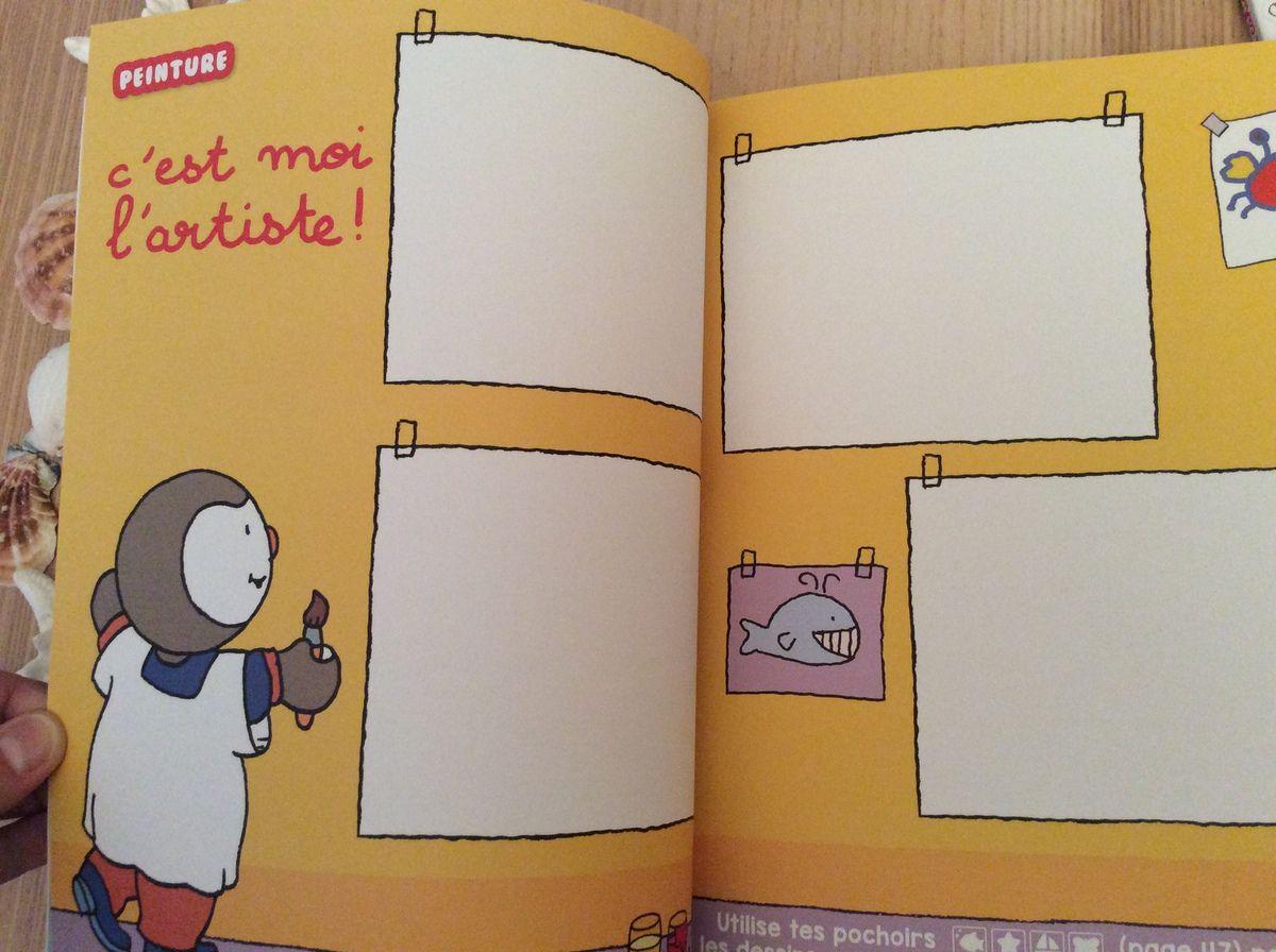 Tchoupi. Mon cahier de jeux de vacances. NATHAN.