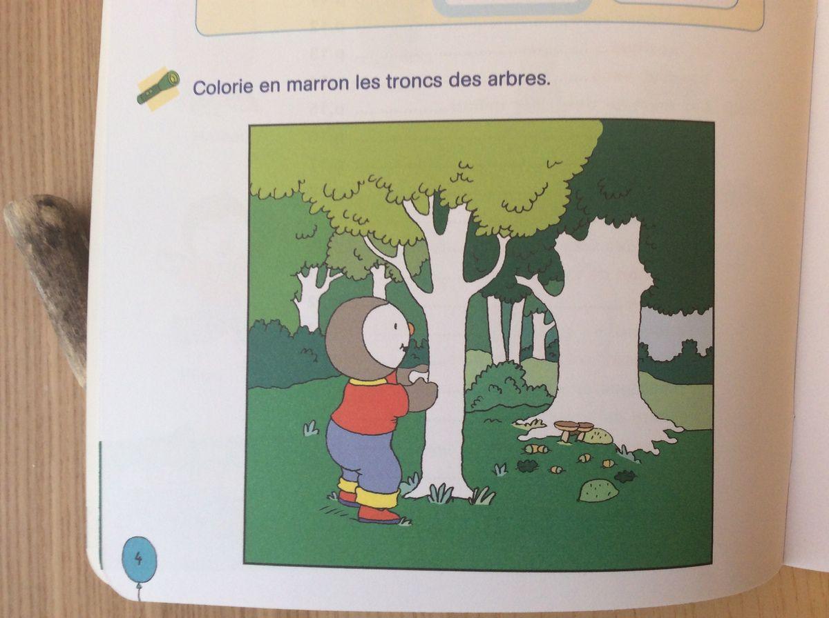 Tchoupi en vacances #4 Cahiers de maternelle. Petite section et moyenne section.