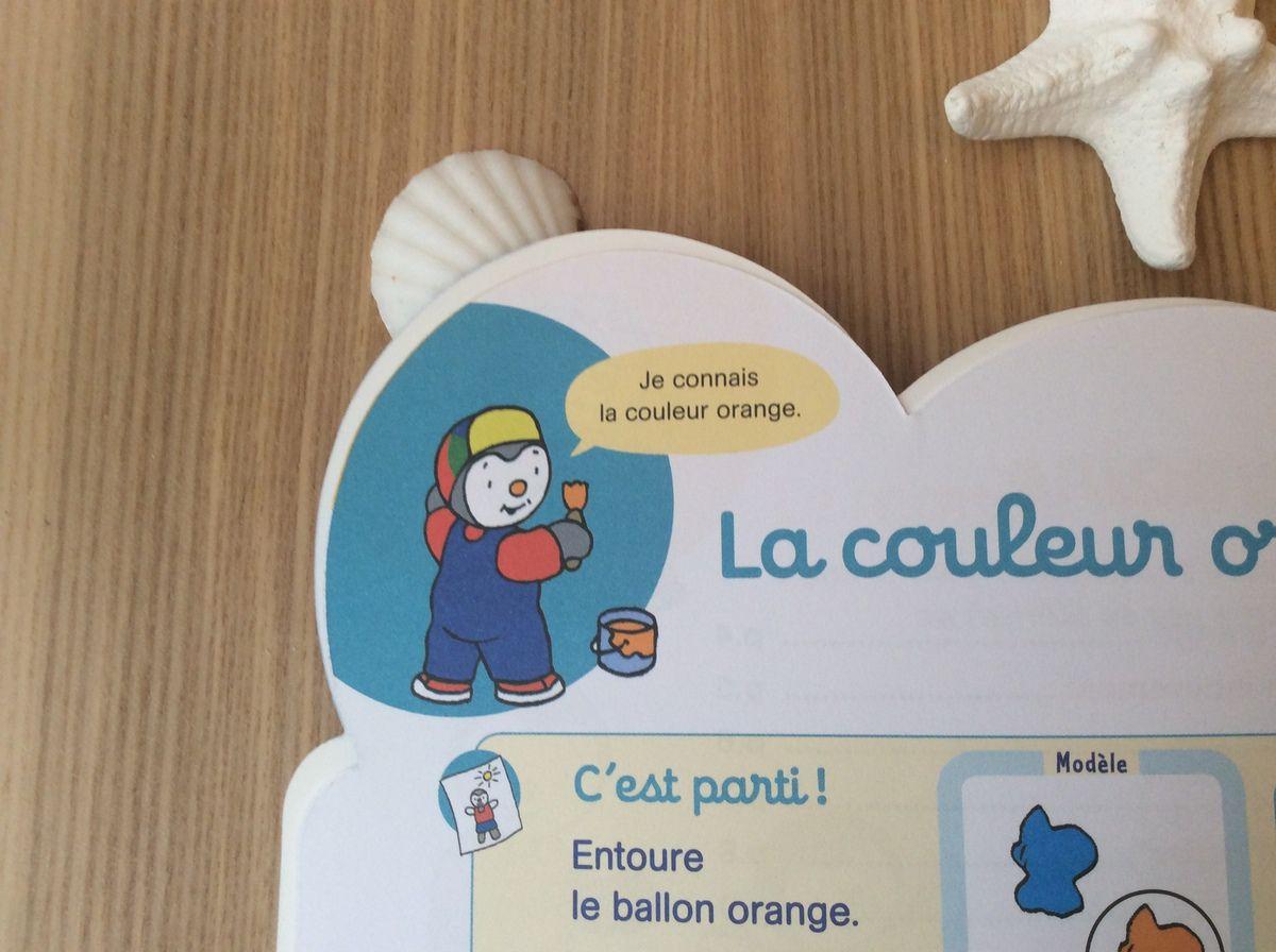 Auteur pédagogique Anne Popet. Tchoupi est créé par Thierry Courtin, Édition NATHAN.