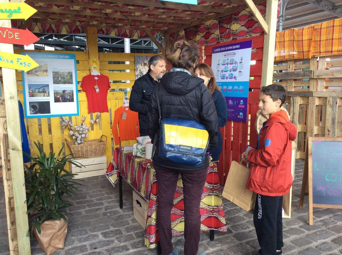 Parc de la Villette #3 Max Havelaar. Le label solidaire.